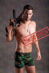 """Military Boxeralsó """"Limitált"""" kiadás - L"""