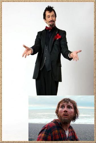 Piperkőc és az elhanyagolt kinézetű férfi