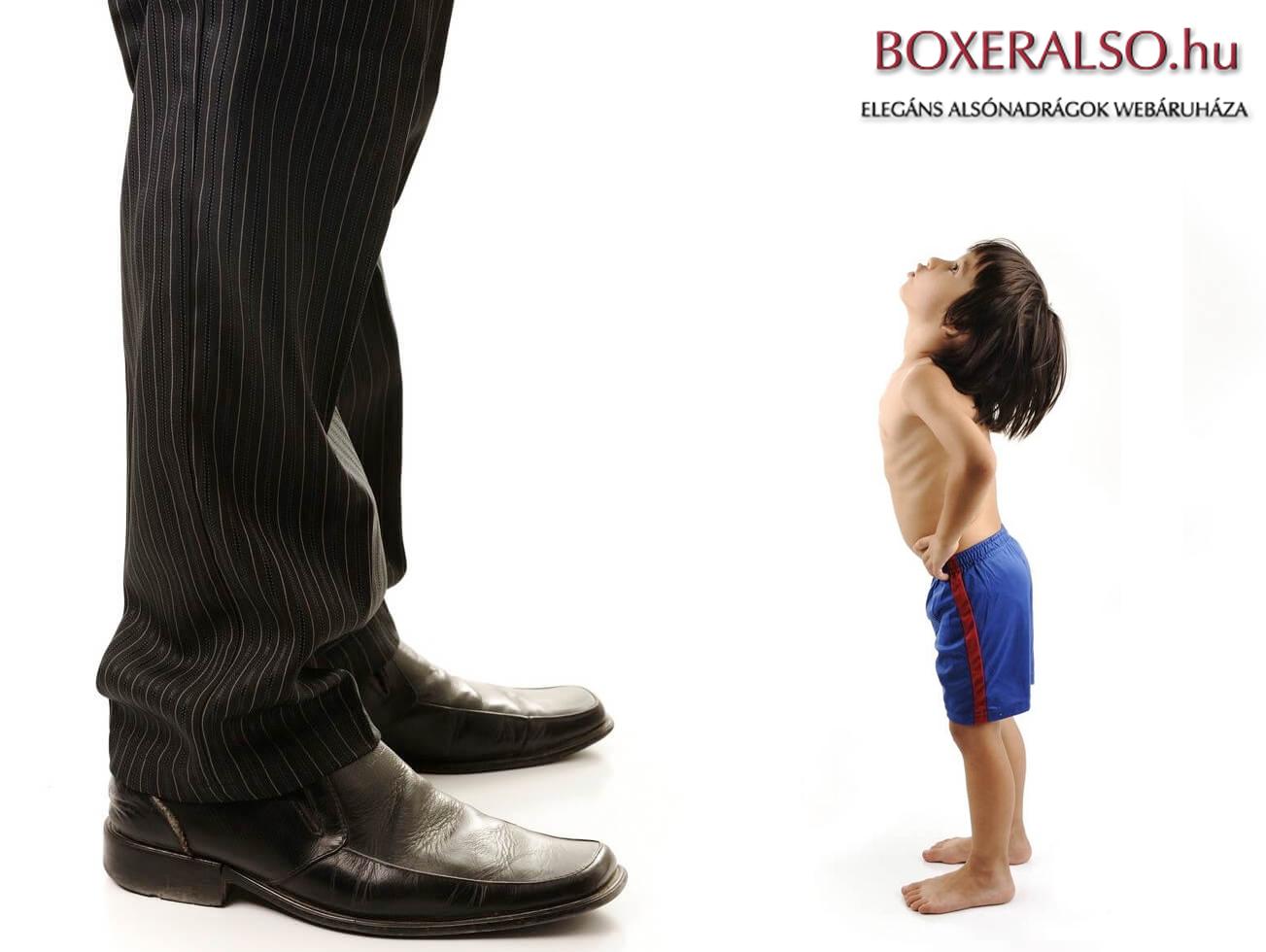 Kisfiú és a nagyranőtt férfi