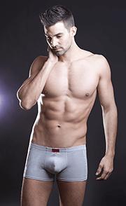 Rövid szárú férfi boxer, férfi fehérnemű, férfi alsónemű