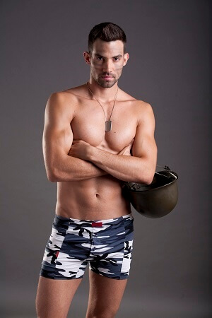 Military boxer alsógatya